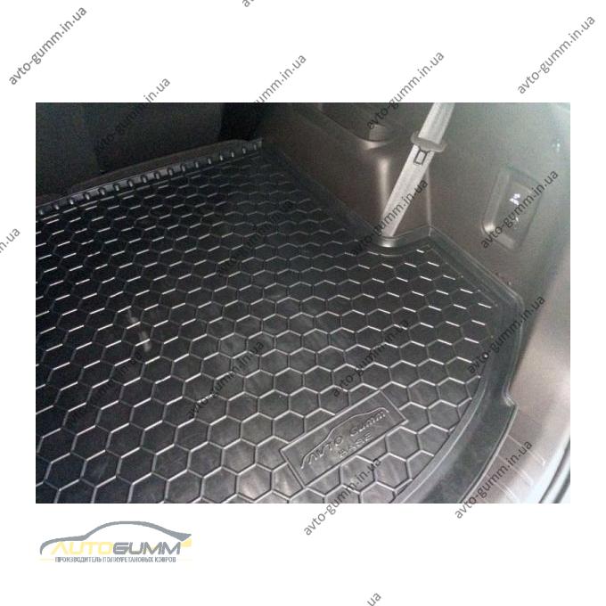 Автомобильный коврик в багажник Hyundai Grand Santa Fe 2013- Base (Avto-Gumm)
