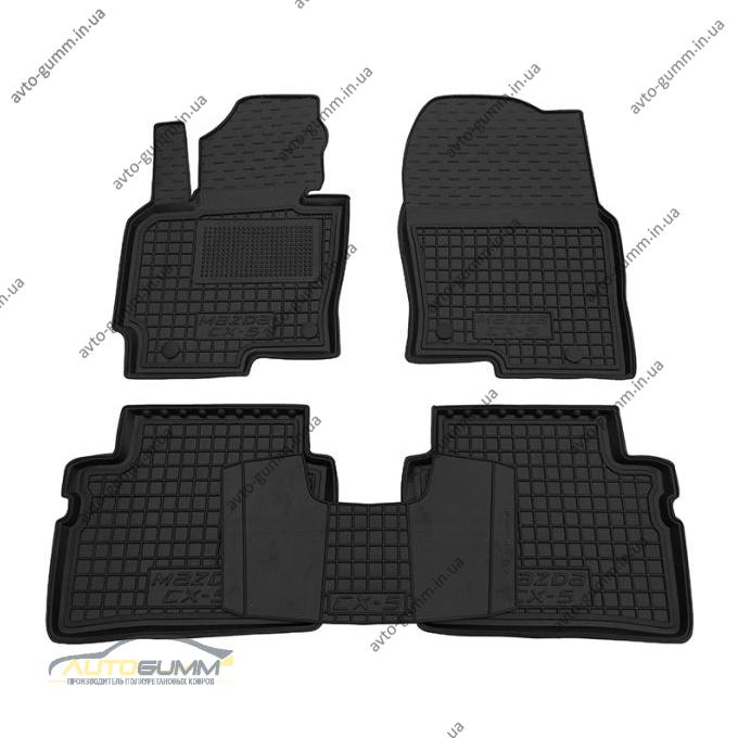 Автомобильные коврики в салон Mazda CX-5 2012- (Avto-Gumm)