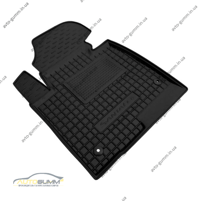 Водительский коврик в салон Hyundai Santa Fe 2012- (DM) (Avto-Gumm)
