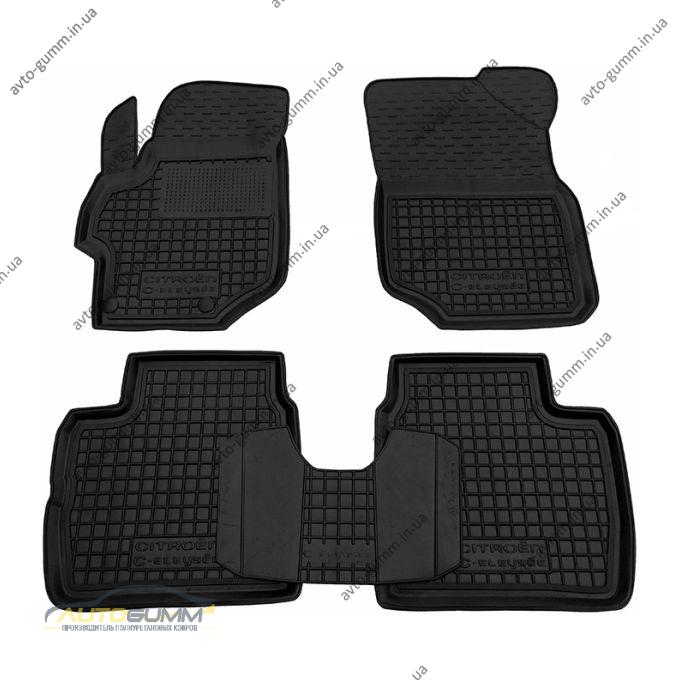 Автомобильные коврики в салон Citroen C-Elysee 2013- (Avto-Gumm)