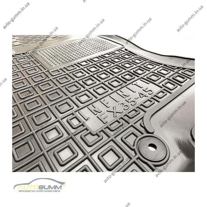 Автомобільні килимки в салон Infiniti FX 2003-2008 (Avto-Gumm)