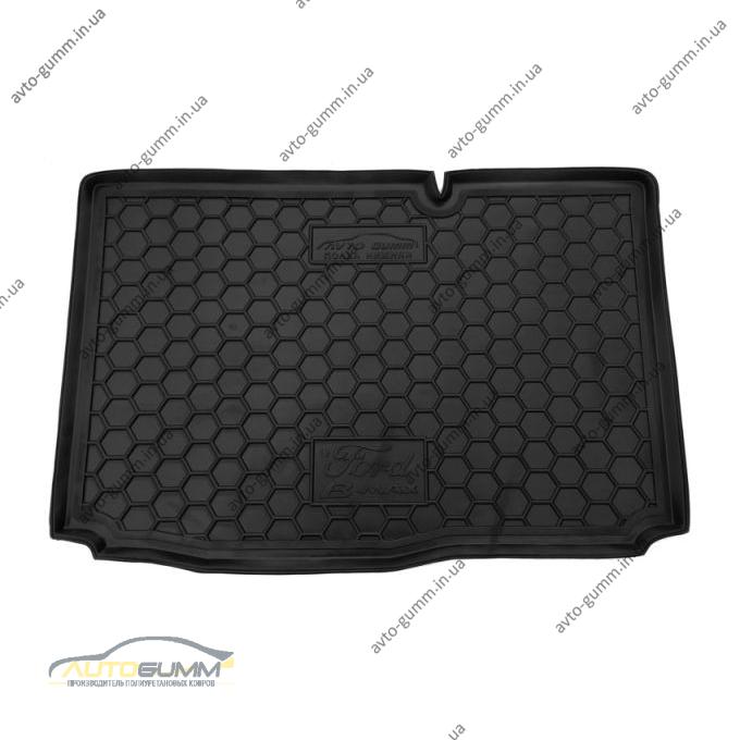 Автомобильный коврик в багажник Ford B-Max 2013- нижняя полка (Avto-Gumm)