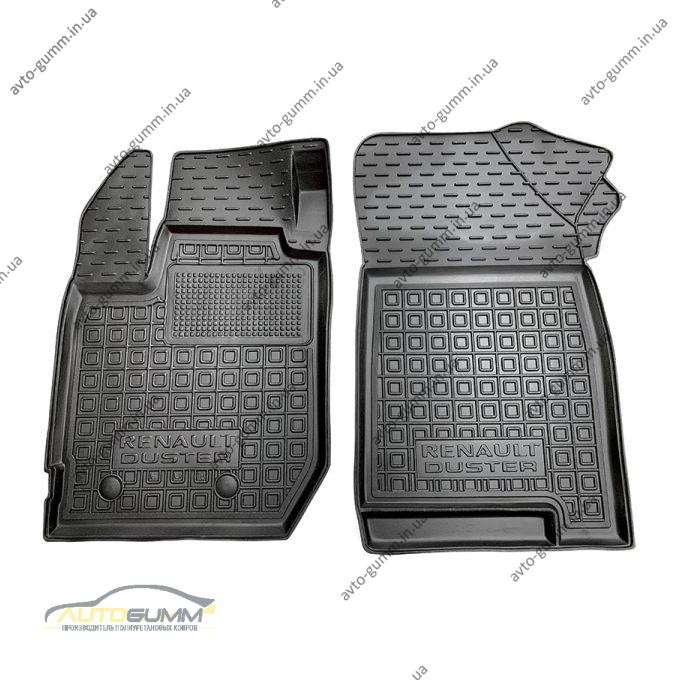 Передние коврики в автомобиль Renault Duster 2018- (Avto-Gumm)