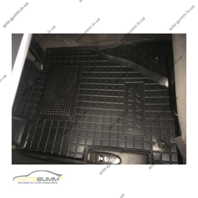 Водительский коврик в салон Honda Civic 4D Sedan 2006- (Avto-Gumm)