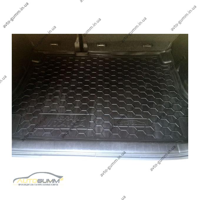 Автомобильный коврик в багажник Suzuki Grand Vitara 2005- (Avto-Gumm)
