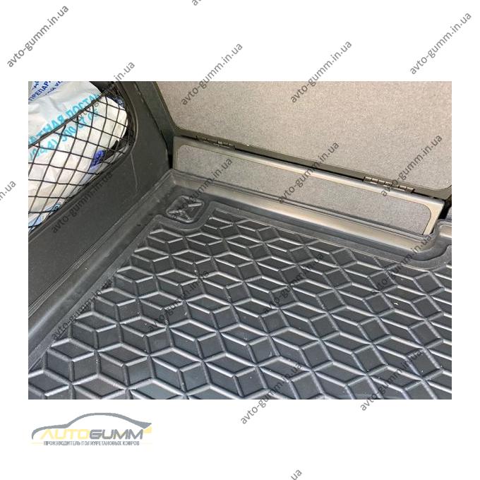 Автомобильный коврик в багажник Opel Meriva A 2002- (Avto-Gumm)