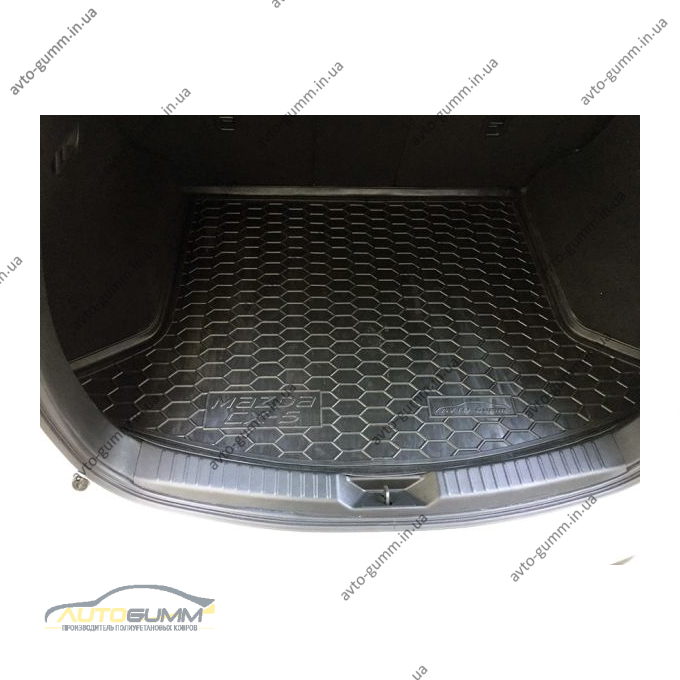 Автомобильный коврик в багажник Mazda CX-5 2017- (Avto-Gumm)