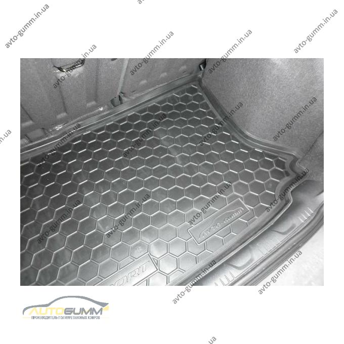 Автомобильный коврик в багажник Ford EcoSport 2015- (Avto-Gumm)