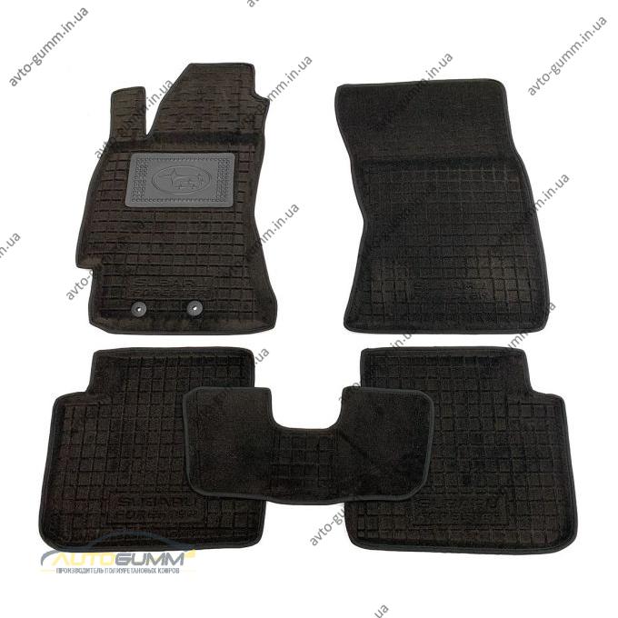 Гибридные коврики в салон Subaru Forester 3 2008-2013 (Avto-Gumm)