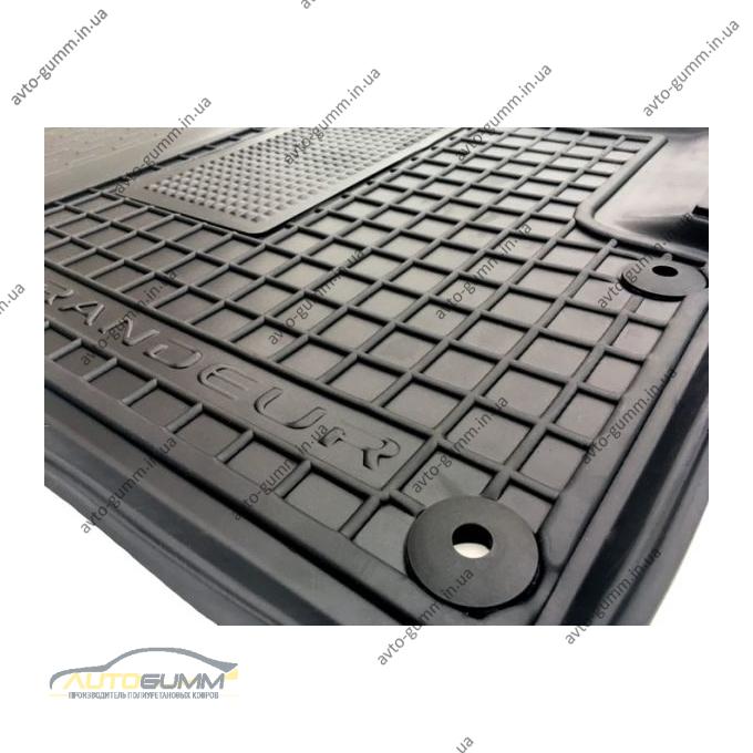 Водительский коврик в салон Hyundai Grandeur 2011- (Avto-Gumm)
