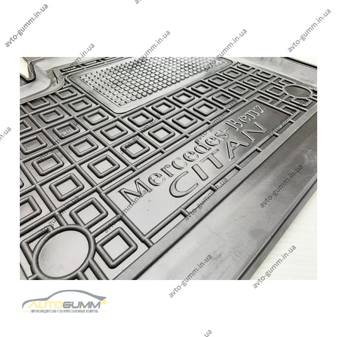 Водительский коврик в салон Mercedes Citan 2012- (Avto-Gumm)