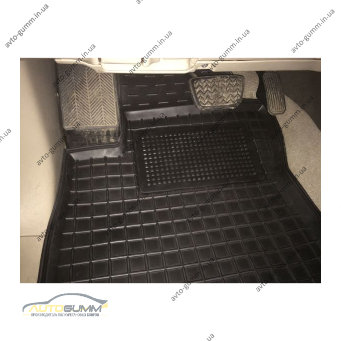 Водительский коврик в салон Toyota Land Cruiser Prado 120 2002- (Avto-Gumm)