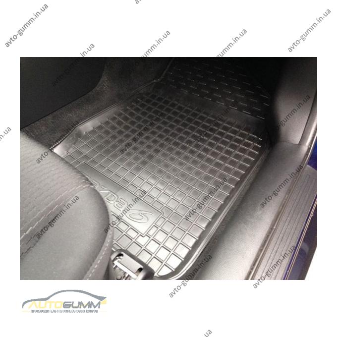 Автомобільні килимки в салон Mazda 6 2007-2013 (Avto-Gumm)