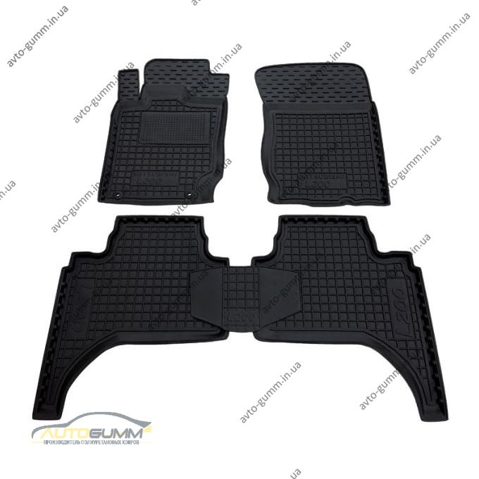 Автомобильные коврики в салон Mitsubishi L200 2006- (араб.) (Avto-Gumm)