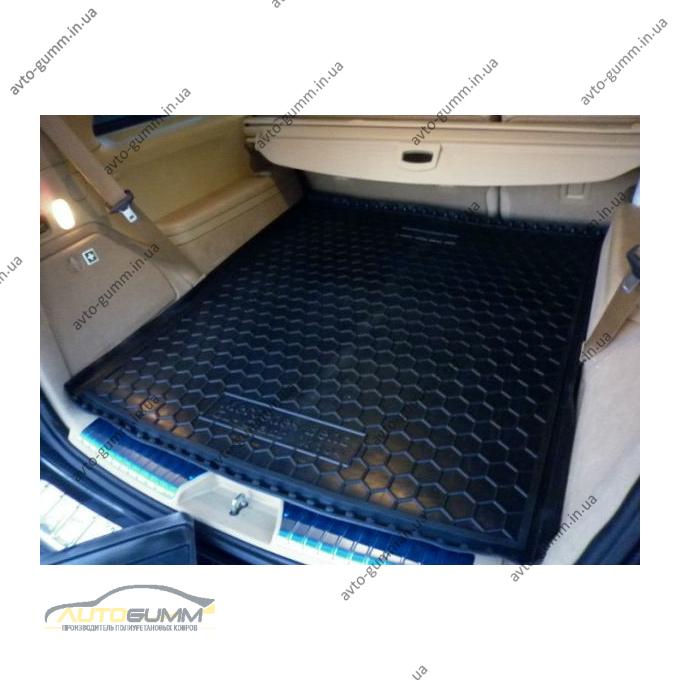 Автомобильный коврик в багажник Mercedes GL (X164) 2006- (Avto-Gumm)