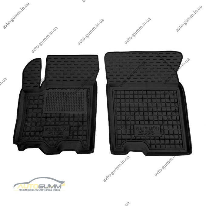 Передние коврики в автомобиль Suzuki SX4 2013- (Avto-Gumm)