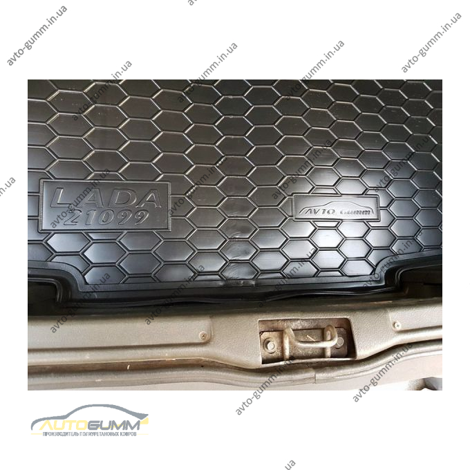 Автомобильный коврик в багажник Ваз Lada 21099 (Avto-Gumm)