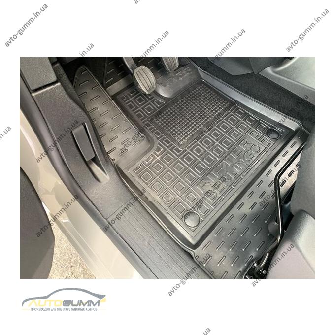 Передние коврики в автомобиль Peugeot Rifter 19-/Citroen Berlingo 19- (Avto-Gumm)