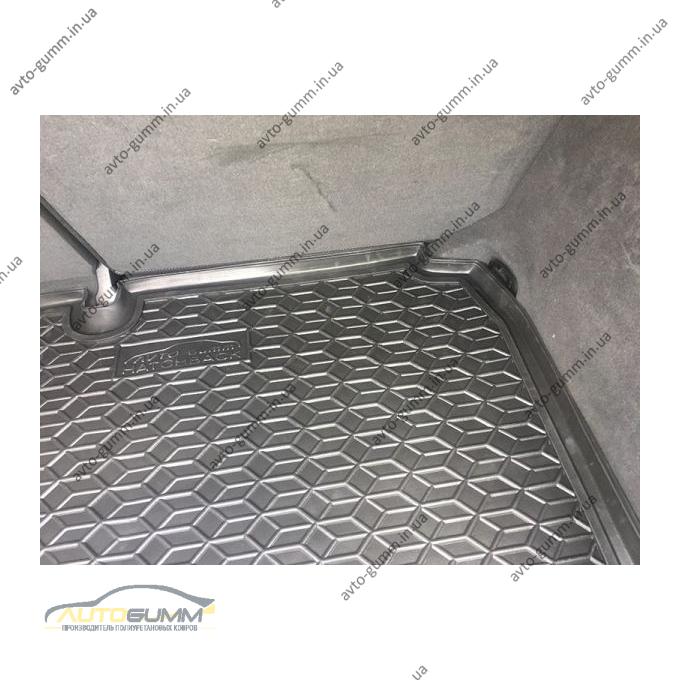 Автомобильный коврик в багажник Audi A3 2004-2012 Hatchback (Avto-Gumm)