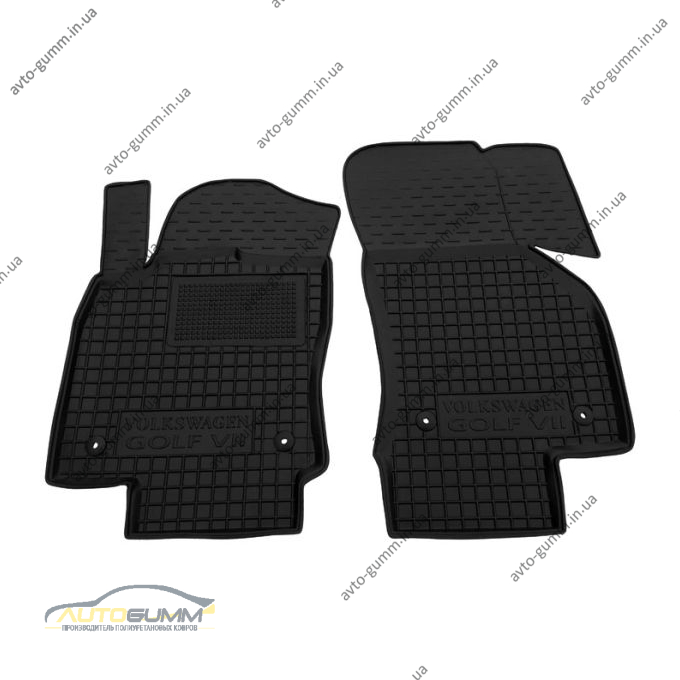 Передние коврики в автомобиль Volkswagen Golf 7 2013- (Avto-Gumm)