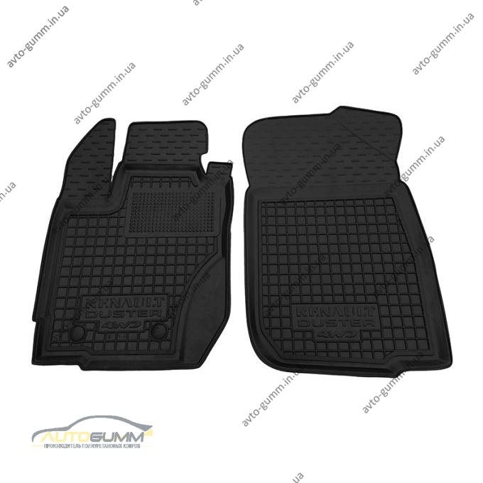 Передние коврики в автомобиль Renault Duster 2015- (Avto-Gumm)