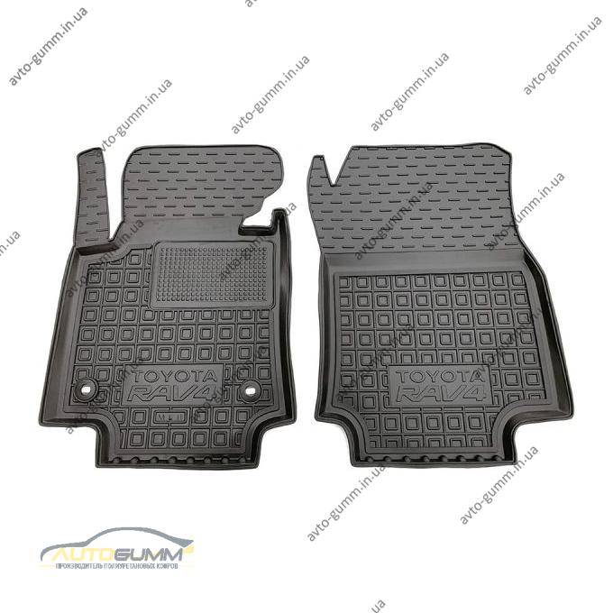 Передние коврики в автомобиль Toyota RAV4 2019- ДВС МКПП (Avto-Gumm)