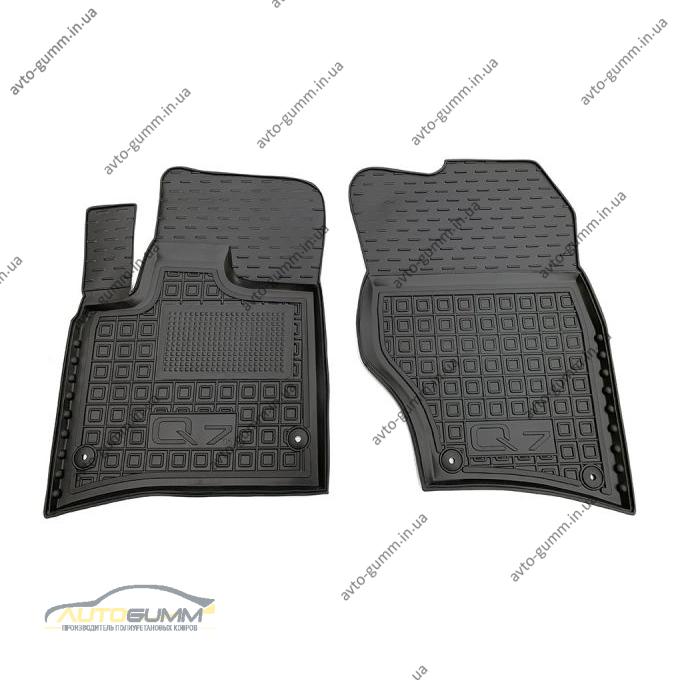 Передние коврики в автомобиль Audi Q7 2005-2015 (Avto-Gumm)