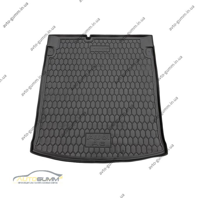 Автомобильный коврик в багажник Audi A6 (C5) 1998-2005 Sedan (Avto-Gumm)