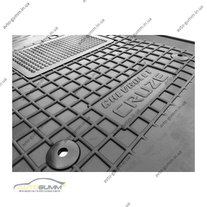 Водійський килимок в салон Chevrolet Cruze 2009- (Avto-Gumm)