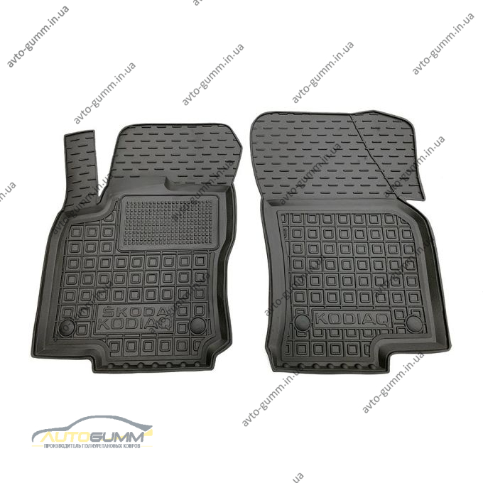 Передние коврики в автомобиль Skoda Kodiaq 2017- (Avto-Gumm)