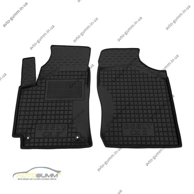 Передні килимки в автомобіль Geely CK/CK-2 2005- (Avto-Gumm)