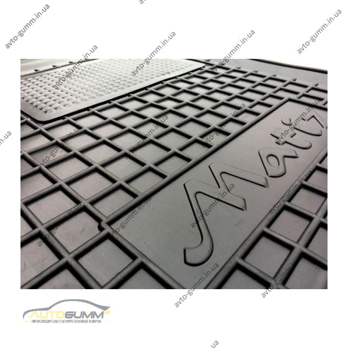 Водительский коврик в салон Daewoo Matiz 1998- (Avto-Gumm)
