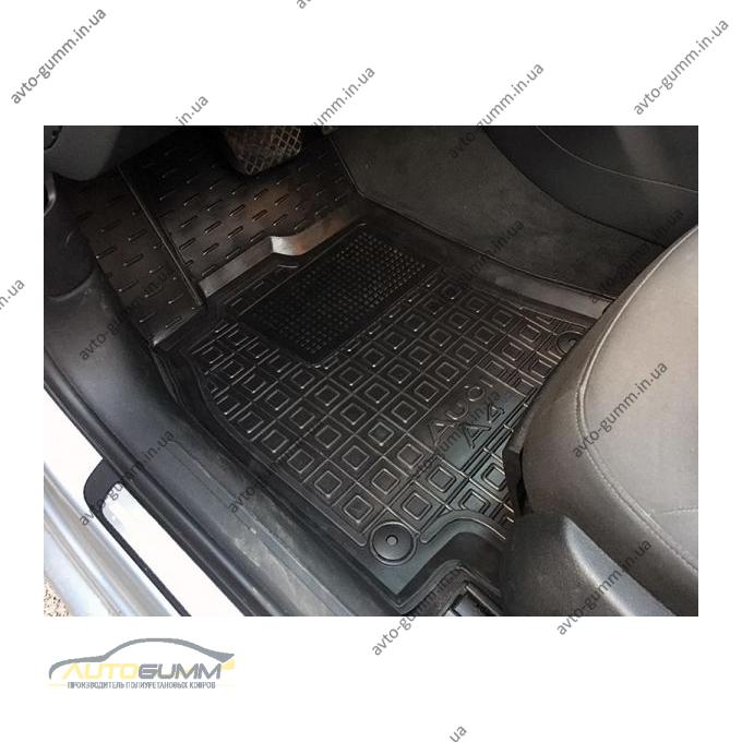 Водительский коврик в салон Audi A4 (B8) 2008- (Avto-Gumm)