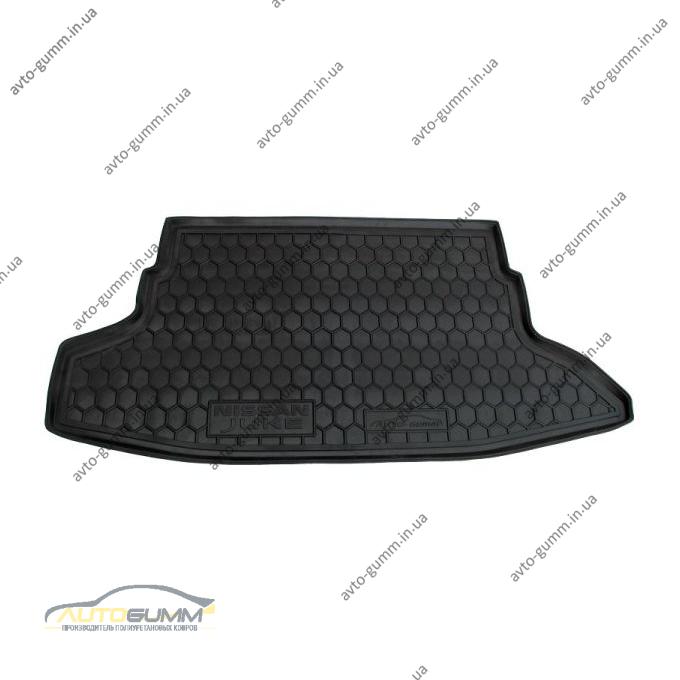 Автомобильный коврик в багажник Nissan Juke 2010- (Avto-Gumm)