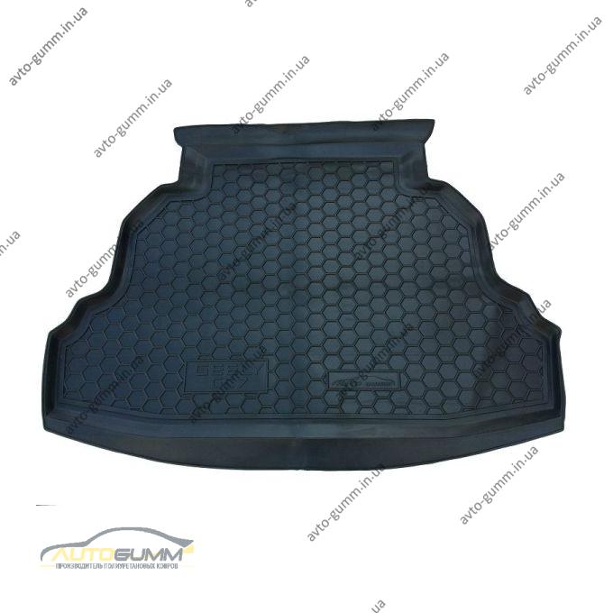 Автомобильный коврик в багажник Geely GC7 2015- (Avto-Gumm)