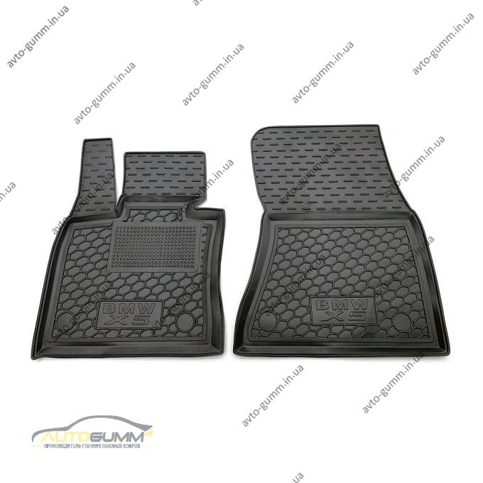 Передние коврики в автомобиль BMW X5 (F15) 2013- (Avto-Gumm)