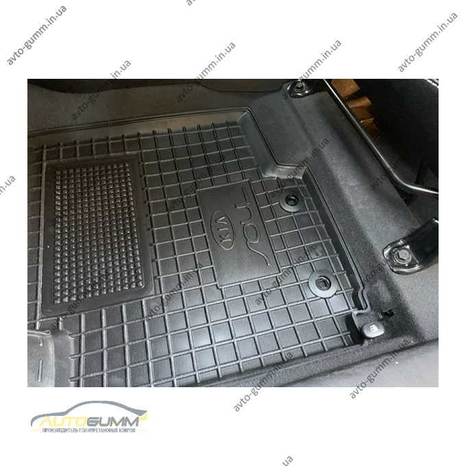 Автомобільні килимки в салон Kia Soul 2008-2014 (Avto-Gumm)