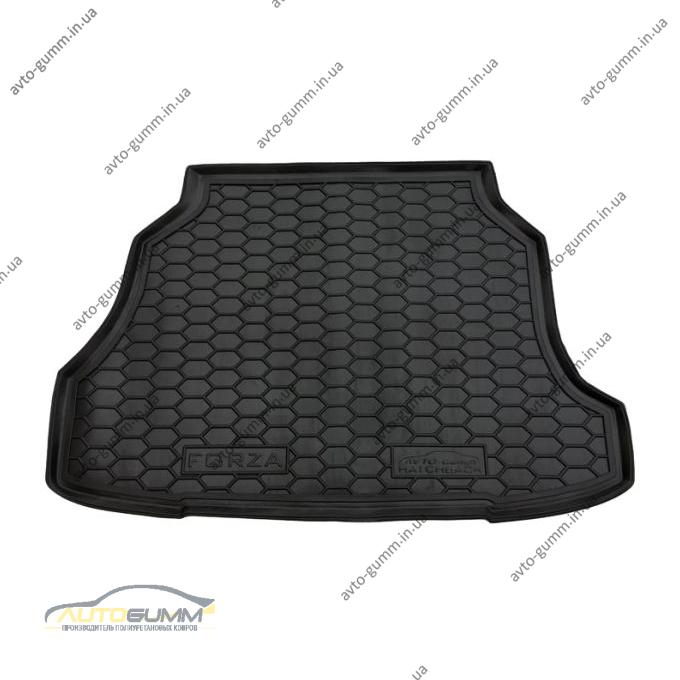 Автомобильный коврик в багажник Zaz Forza 2011- Hatchback (Avto-Gumm)