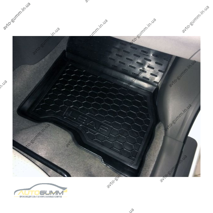 Передние коврики в автомобиль Nissan Leaf 2012-/2018- (Avto-Gumm)
