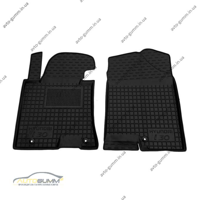 Передние коврики в автомобиль Hyundai i30 2012- (Avto-Gumm)