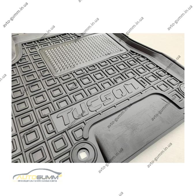 Автомобильные коврики в салон Hyundai Tucson 2004- (AVTO-Gumm)