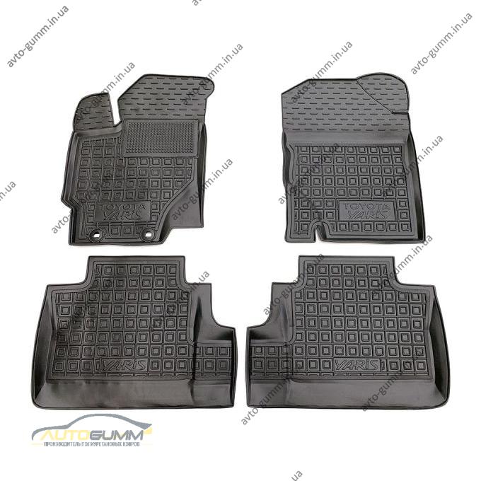 Автомобильные коврики в салон Toyota Yaris 2011- (Avto-Gumm)