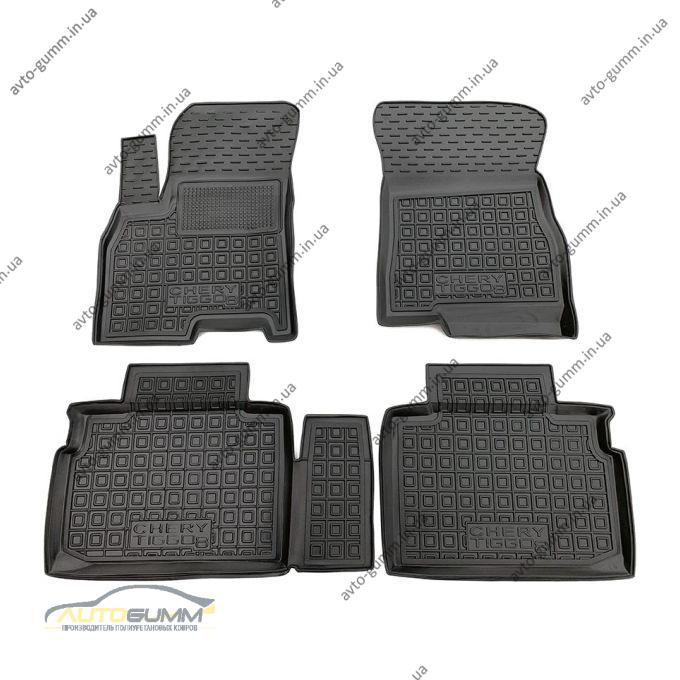Автомобильные коврики в салон Chery Tiggo 8 2018- (Avto-Gumm)