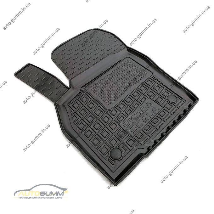 Водительский коврик в салон Skoda Scala 2020- (Avto-Gumm)