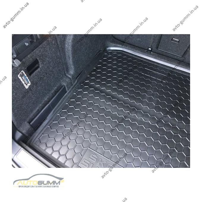 Автомобильный коврик в багажник Skoda SuperB 2015- Universal (Avto-Gumm)