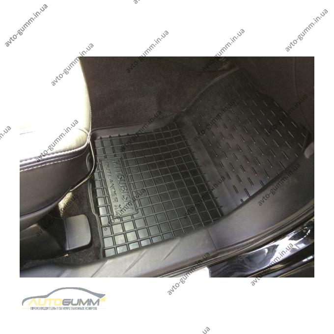 Автомобильные коврики в салон Mitsubishi Outlander XL 2007-2012 (Avto-Gumm)