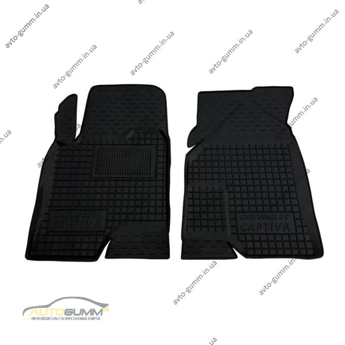 Передние коврики в автомобиль Chevrolet Captiva 2012- (Avto-Gumm)