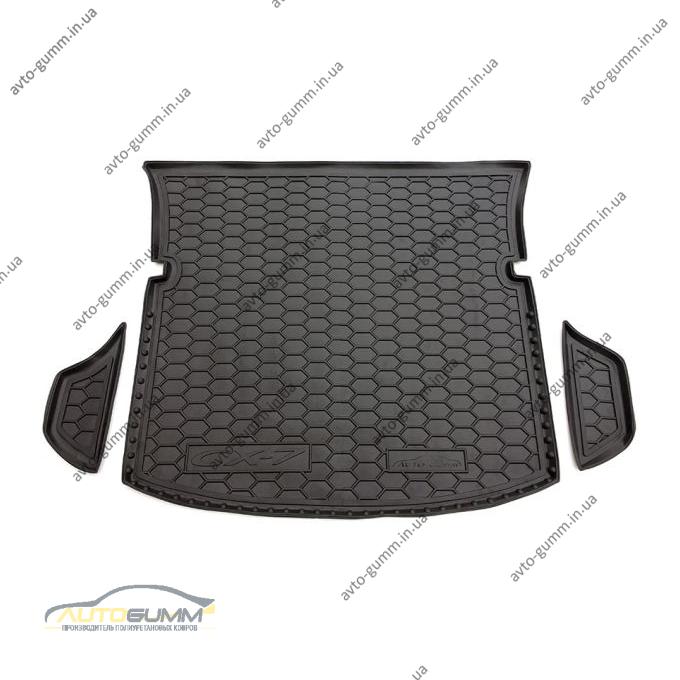 Автомобильный коврик в багажник Mazda CX-7 2006- (Avto-Gumm)