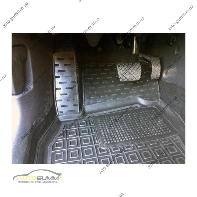 Автомобильные коврики в салон Volkswagen Polo Hatchback 2018- (Avto-Gumm)