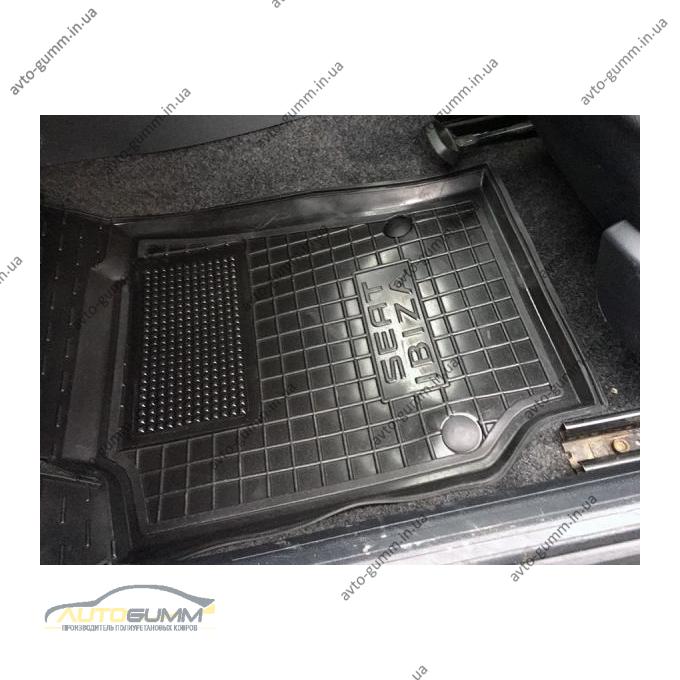 Водительский коврик в салон Seat Ibiza (6J) 2008- (Avto-Gumm)